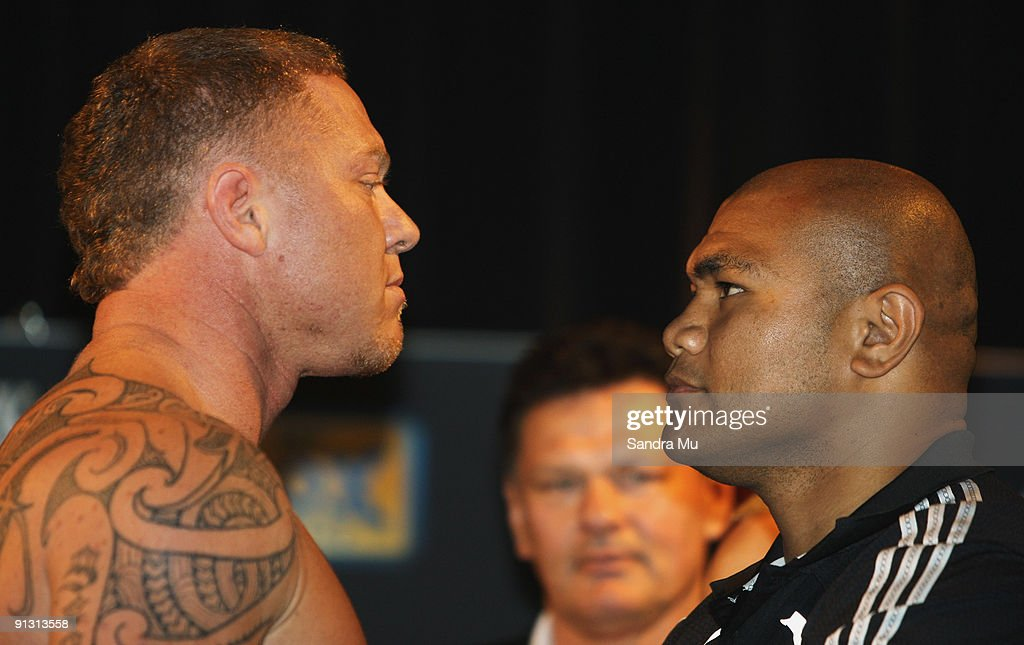 David Tua v Shane Cameron Weigh-In