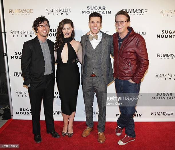 Shane Coffey Haley Webb Drew Roy and Carey Elwes attend the Premiere Of Screen Media Films' Sugar Mountain at the Vista Theatre on December 8 2016 in...