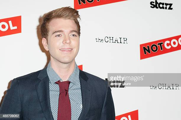 Shane Dawson arrives at the Not Cool Los Angeles Premiere at the Landmark Theatre on September 18 2014 in Los Angeles California
