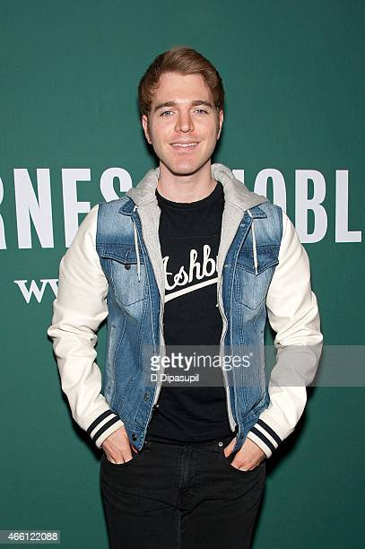Shane Dawson promotes his book I Hate Myselfie A Collection of Essays by Shane Dawson at Barnes Noble Union Square on March 13 2015 in New York City