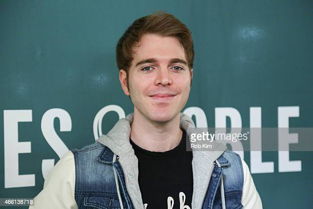 Shane Dawson promotes his new book I Hate Myselfie A Collection of Essays by Shane Dawson at Barnes Noble Union Square on March 13 2015 in New York...