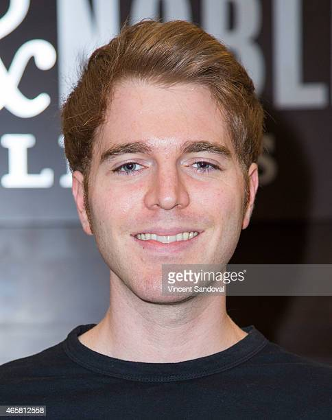 Shane Dawson signs and discusses his new book I Hate Myselfie at Barnes Noble bookstore at The Grove on March 10 2015 in Los Angeles California