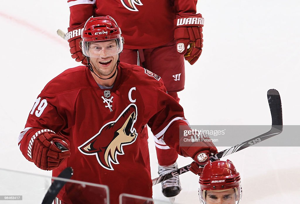Detroit Red Wings v Phoenix Coyotes - Game One : News Photo