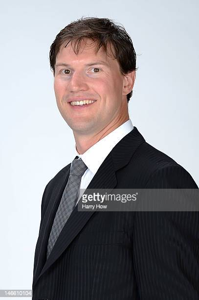 Shane Doan of the Phoenix Coyotes poses for a portrait during the 2012 NHL Awards at the Encore Theater at the Wynn Las Vegas on June 20 2012 in Las...