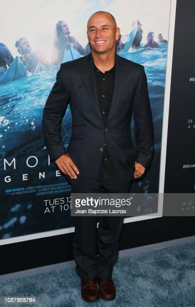 Shane Dorian attends HBO's 'Momentum Generation' premiere held at The Broad Stage on November 05 2018 in Santa Monica California