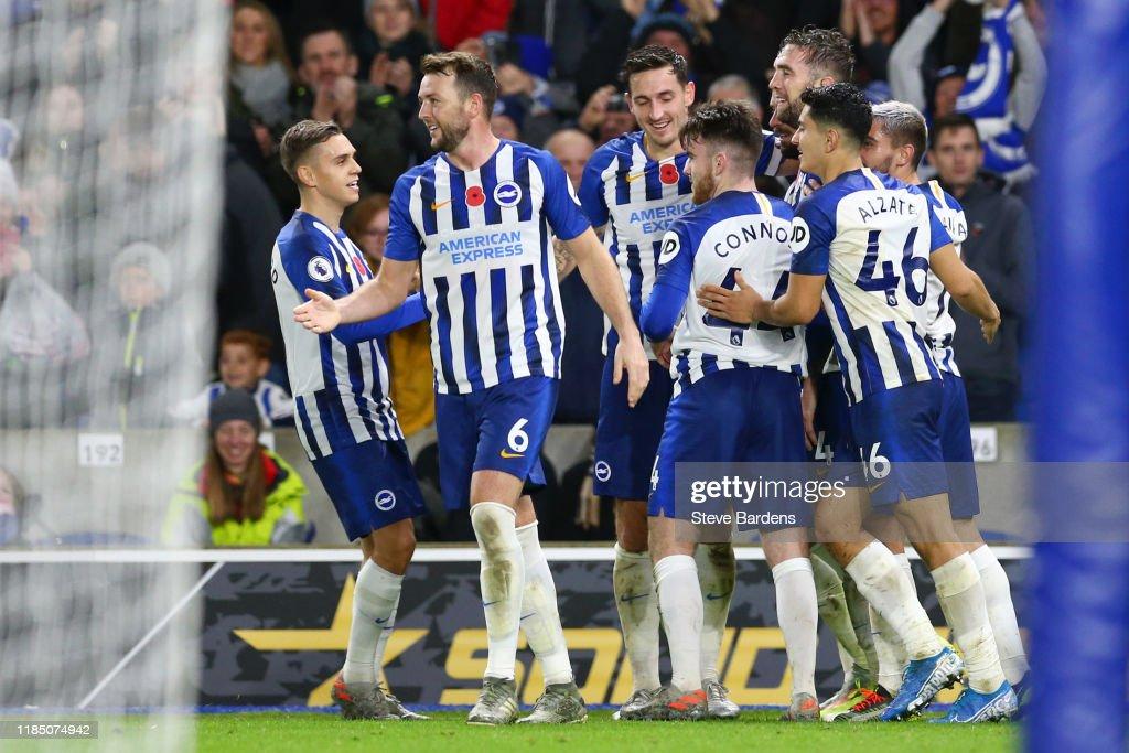 Brighton & Hove Albion v Norwich City - Premier League : News Photo