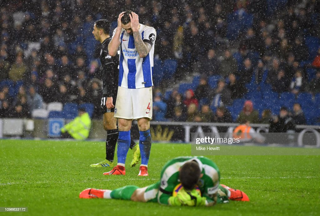 Brighton & Hove Albion v Burnley FC - Premier League : News Photo