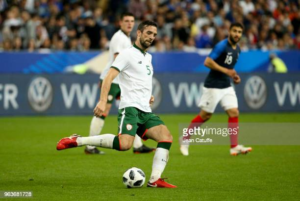 Shane Duffy of Ireland during the international friendly match between France and Republic of Ireland at Stade de France on May 28 2018 in SaintDenis...
