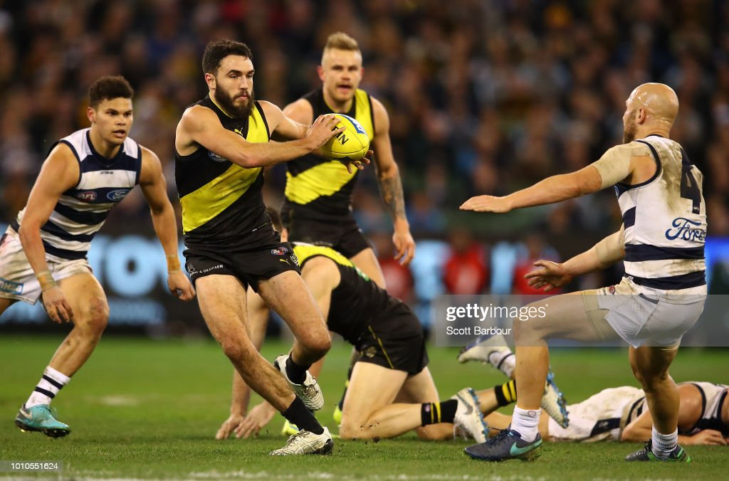 AFL Rd 20 - Richmond v Geelong : News Photo