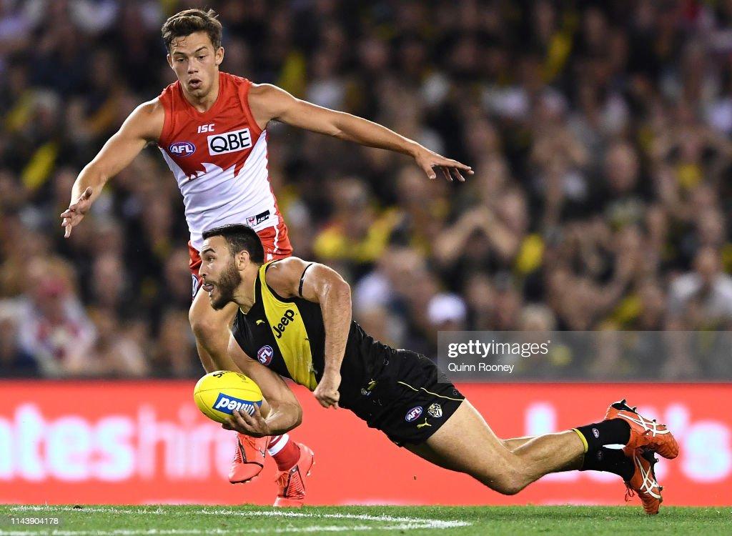 AFL Rd 5 - Richmond v Sydney : News Photo