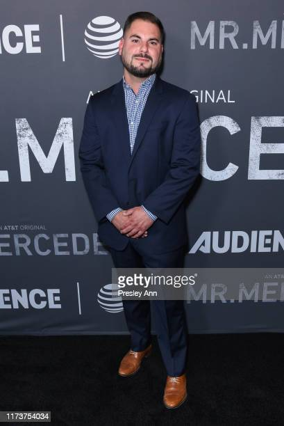 Shane Elrod attends photo call for ATT AUDIENCE Network's Mr Mercedes special SAG screening at Linwood Dunn Theater on September 10 2019 in Los...