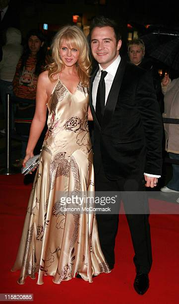Shane Filan and guest during 2006 Emeralds and Ivy Ball in Celebration of Cancer Research at The Roundhouse in London Great Britain