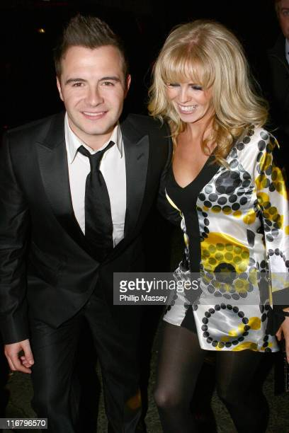 Shane Filan and guest during Meteor Ireland Music Awards After Party at Spirit Nightclub in Dublin Ireland