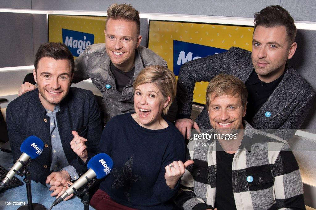 Shane Filan , Nicky Byrne , Kian Egan and Mark Feehily of