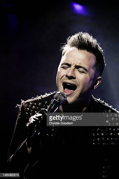 Shane Filan of Westlife performs on stage at the O2 Arena on May 12 2010 in London United Kingdom