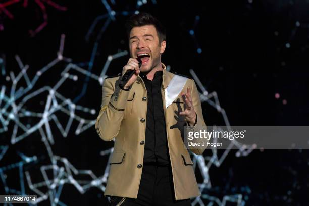 Shane Filan of Westlife performs on stage during BBC2 Radio Live 2019 at Hyde Park on September 15 2019 in London England