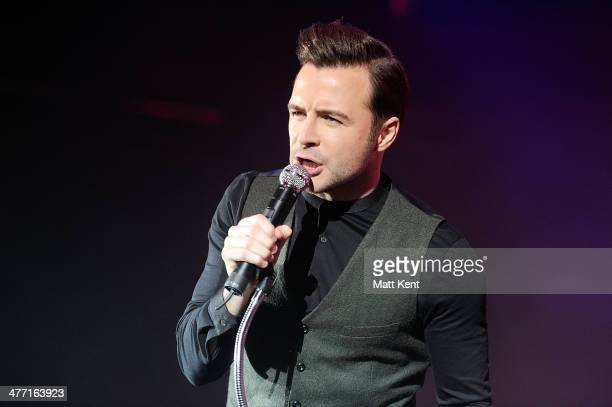 Shane Filan performs at Hammersmith Apollo on March 7 2014 in London England