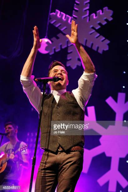 Shane Filan performs at the Magic FM Sparkle Gala at Indigo2 at O2 Arena on December 3 2013 in London England
