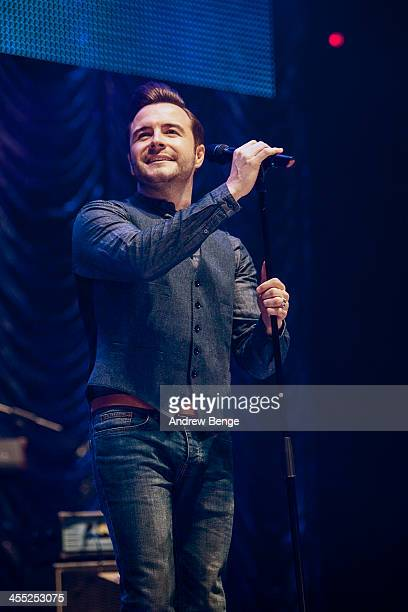 Shane Filan performs on stage for Radio City Live 2013 at Echo Arena on December 11 2013 in Liverpool United Kingdom