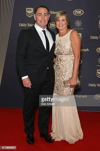 Shane Flanagan arrives at the 2016 Dally M Awards at Star City on September 28 2016 in Sydney Australia