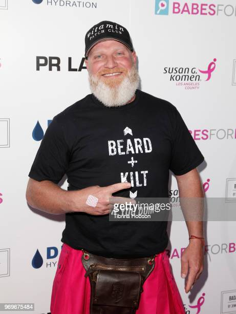 Shane Griffin attends the Babes for Boobs live auction benefiting Susan G Komen LA at El Rey Theatre on June 7 2018 in Los Angeles California