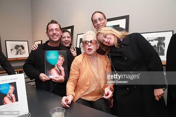 Shane Gritzinger Marguerite Ruscito and photographer Rose Hartman attend the Incomparable Women Of Style Book Launch Celebration at Staley Wise...