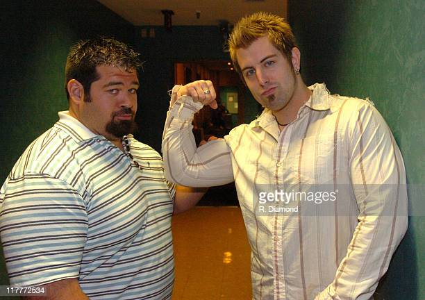 Shane Haman and Jeremy Camp during 36th Annual GMA Music Awards Rehearsals at Grand Ole Opry House in Nashville Tennessee United States