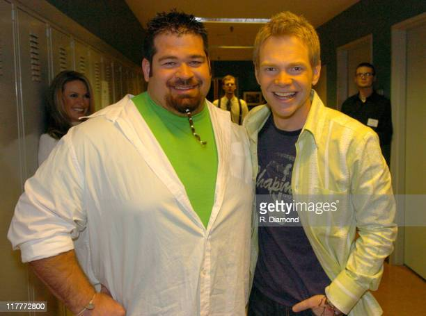 Shane Haman and Steven Curtis Chapman during 36th Annual GMA Music Awards Rehearsals at Grand Ole Opry House in Nashville Tennessee United States