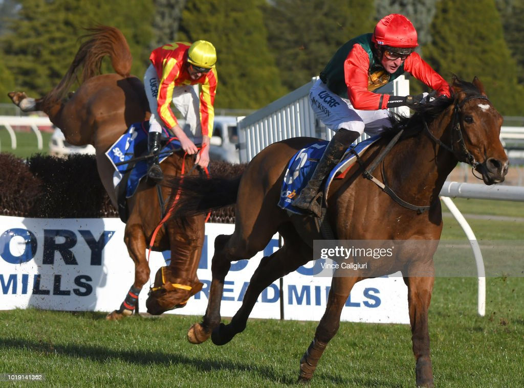 Grand National Steeplechase Day : News Photo