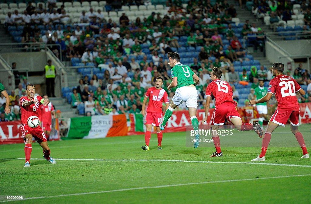 Gibraltar v Republic of Ireland - UEFA EURO 2016 Qualifier : News Photo
