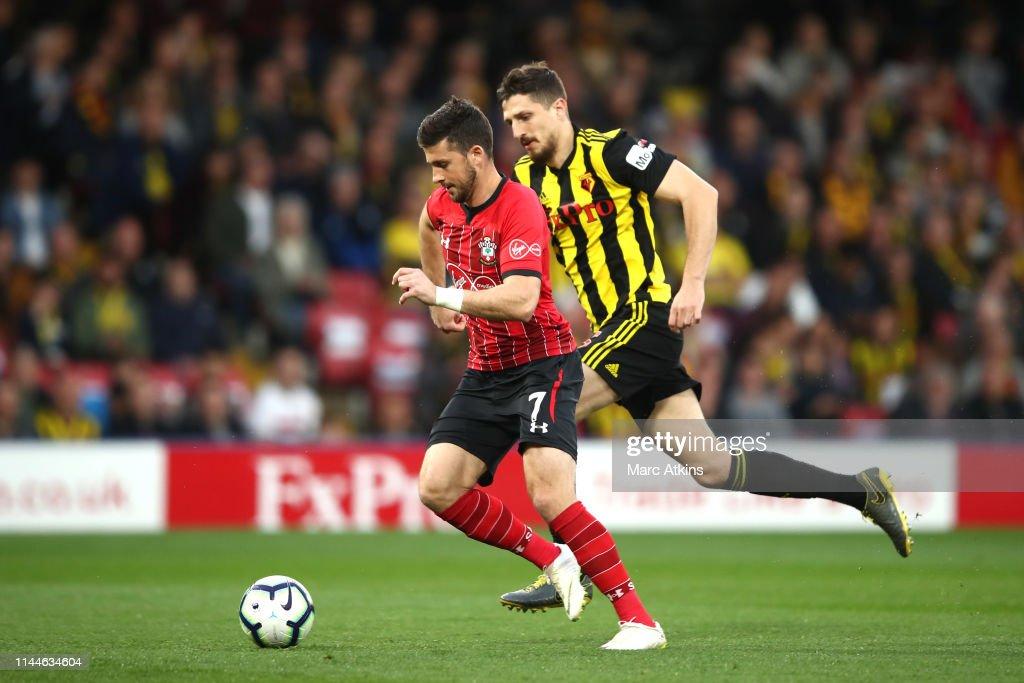 GBR: Watford FC v Southampton FC - Premier League