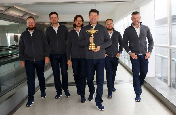GBR: Team Europe Depart for Ryder Cup in The United States