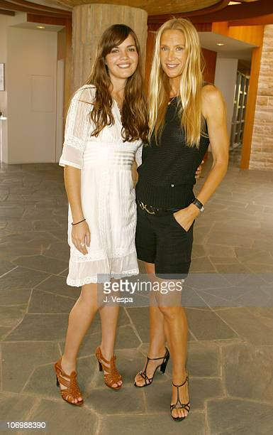 Shane Lynch and Kelly Lynch during Kelly Lynch and Lisa Love Host a Lunch in Honor of James Ferragamo at Private Home in Los Angeles California...