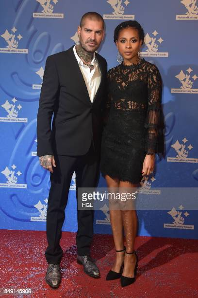 Shane Lynch and Sheena White arriving at The National Lottery Awards 2017 at The London Studios on September 18 2017 in London England