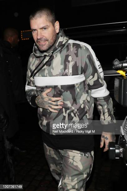 Shane Lynch attends a Warner Records BRIT Awards 2020 afterparty at Chiltern Firehouse on February 18 2020 in London England