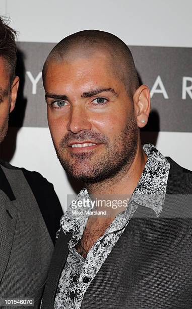 Shane Lynch attends the Quintessentially Awards at Freemasons Hall on June 1 2010 in London England