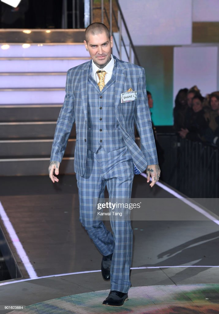 Celebrity Big Brother Male Contestants Launch Night