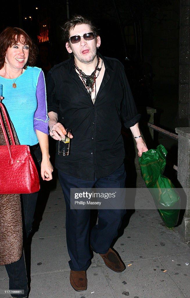 Shane MacGowan Sighting at Babyshambles Concert - September 26, 2006