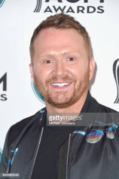 Shane McAnally attends ACM Stories Songs Stars A Songwriter's Event Benefiting ACM Lifting Lives at The Joint inside the Hard Rock Hotel Casino on...