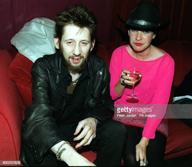 Shane McGowan at the premiere of the BBC2 documentary Westway To The World in Notting Hill in London The film is about the career of The Clash who...
