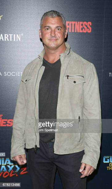 Shane McMahon attends the screening of Marvel Studios' Guardians Of The Galaxy Vol 2 hosted by The Cinema Society at the Whitby Hotel on May 3 2017...