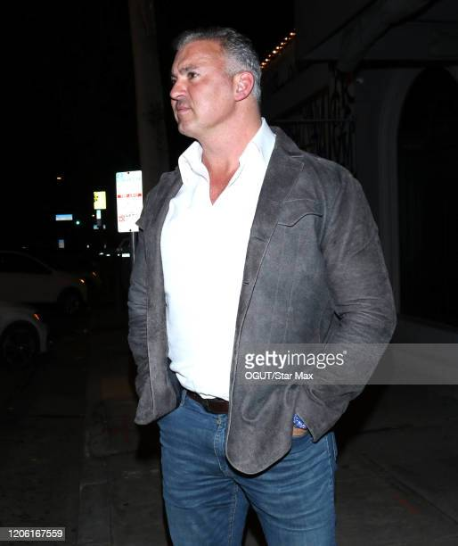 Shane McMahon is seen on March 9 2020 in Los Angeles California