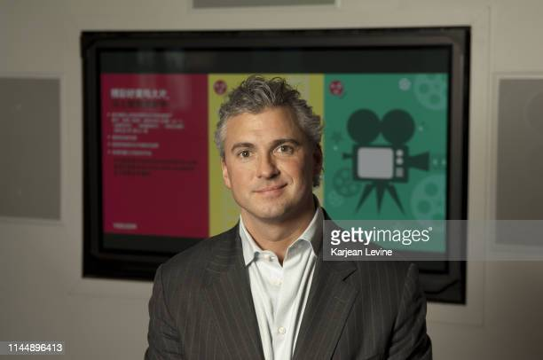 Shane McMahon poses for a portrait at the offices of videoondemand company You on Demand on February 4 2013 in New York City New York
