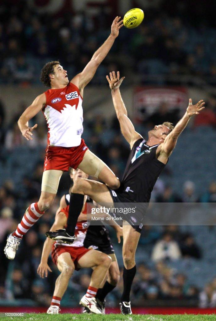AFL Rd 12 - Power v Swans