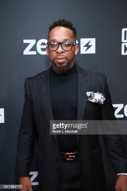 """Shane Norman attends Zeus Network's """"One Mo Chance"""" Season 2 Premiere at AMC Universal at City Walk on September 19, 2021 in Universal City,..."""