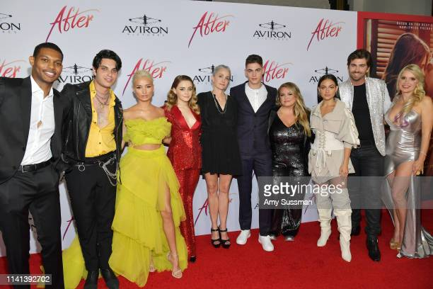 Shane Paul McGhie Samuel Larsen Pia Mia Josephine Langford Jenny Gage Hero FiennesTiffin Anna Todd Inanna Sarkis Swen Temmel and Meadow Williams...