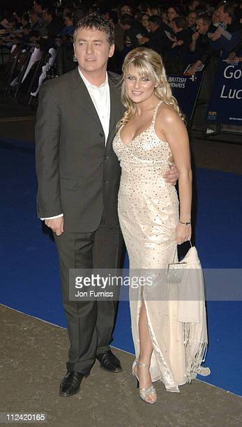 Shane Richie and Christie Goddard during National Television Awards 2005 Arrivals at Royal Albert Hall in London Great Britain