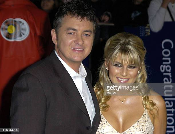 Shane Richie and Christie Goddard during National Television Awards 2005 at Royal Albert Hall London in London United Kingdom