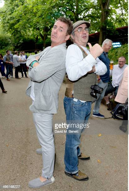 Shane Richie and Danny Baker attend Home Coming hosted by Home House and Vertu, the English luxury mobile phone brand at Regent's Park Open Air...