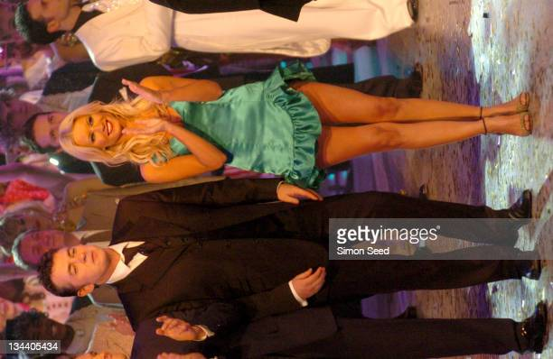 Shane Richie and Denise Van Outen during The Royal Variety Concert Inside and Show at The London Coliseum in London England Great Britain